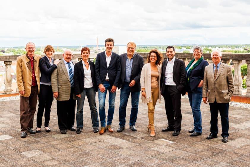 SPD-Stadtratfraktion Augsburg: Gruppenbild Stadträte