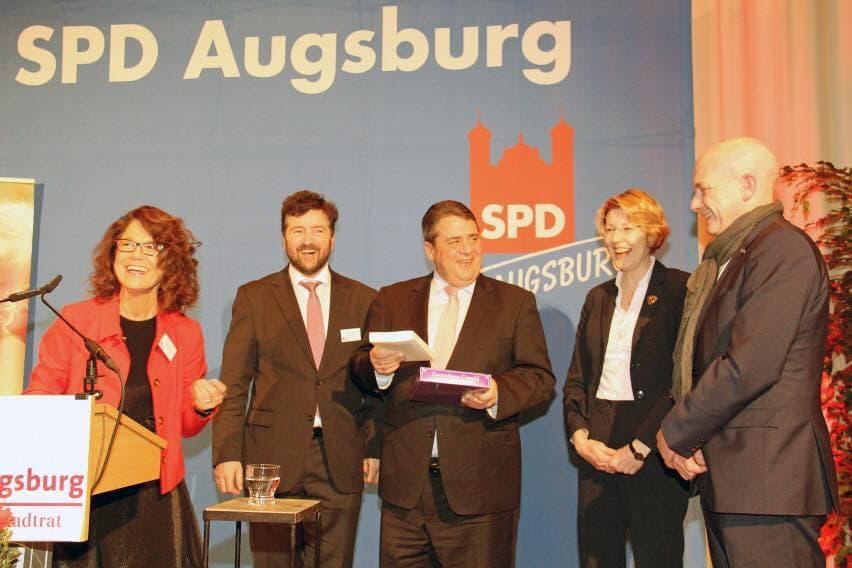 SPD-Augsburg Neujahrsempfang 2016